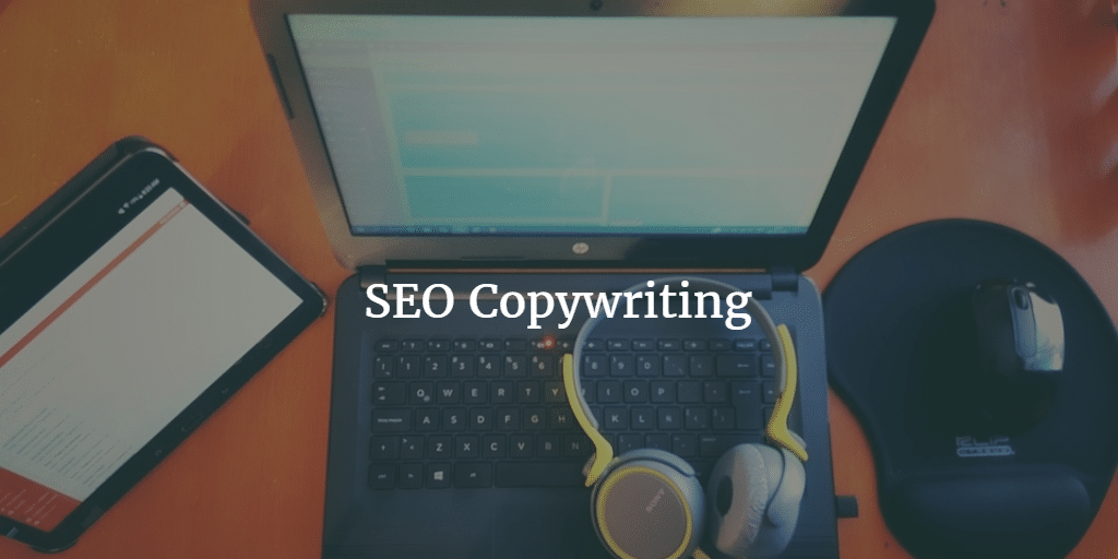 Laptop at work - SEO Copywriting for Small Businesses
